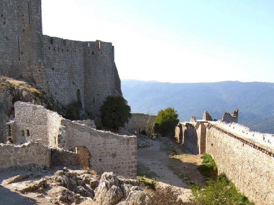 Château de Peyrepertuse : Chateau de Peyreperteuse