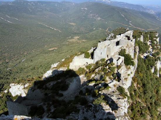 Duilhac-sous-Peyrepertuse, Frankreich: Chateau de Peyreperteuse