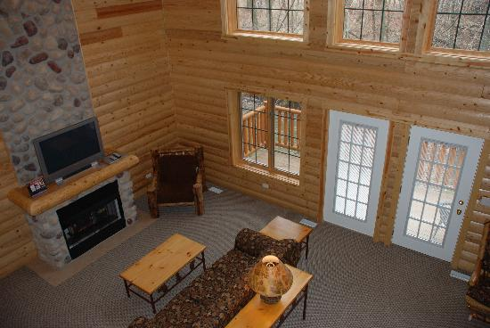 Cabin Great Room Picture Of Grizzly Jack S Grand Bear