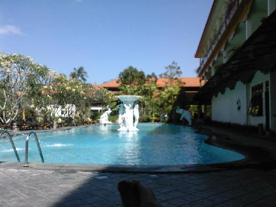 Febri's Hotel & Spa : View of the swimming pool