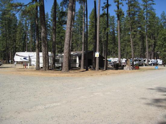 Nevada County Fairgrounds Camping : NV County Fairground RV Entrance