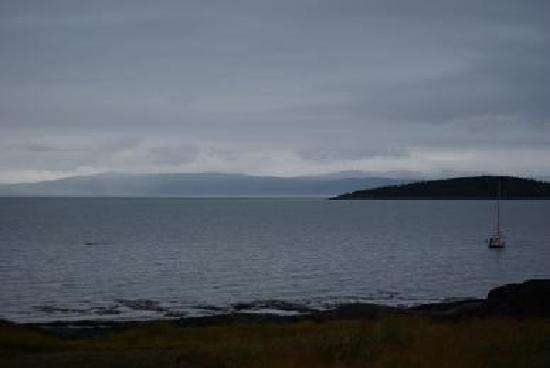 Kamouraska, Canadá: view from the breakfastroom