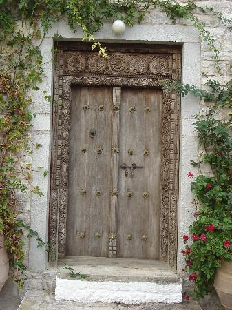 Zakspitaki B&B: Front Door