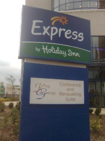 ‪‪Holiday Inn Express London-Newbury Park‬: The Hotel‬