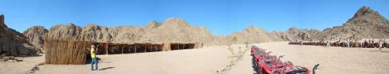 Primasol Albatros Resort : Panoramica della motorata nel deserto