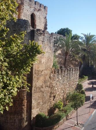 Hotel Don Alfredo: View from our window of Marbella castle