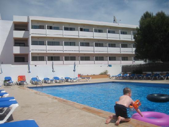 Anfora Playa: Hotel pool area