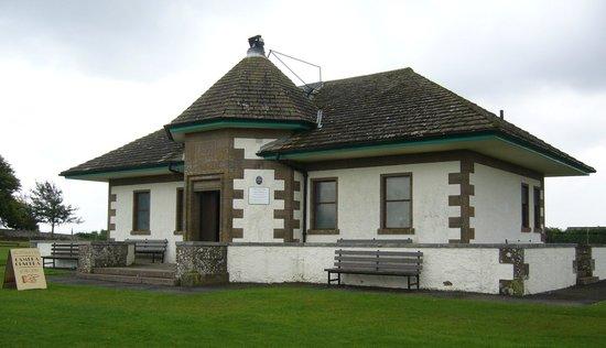 JM Barrie's Birthplace: Camera Obscura, Kirriemuir