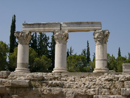 Corinth, Greece: Temple of Octavia