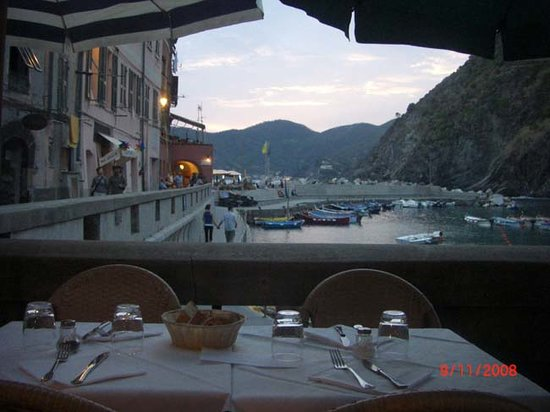 Ristorante Il Gambero Rosso: view from one of the outdoor tables