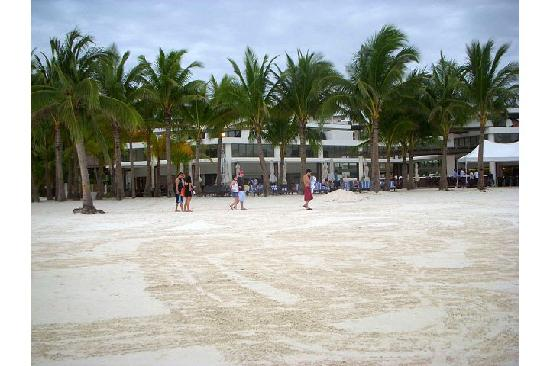 Discovery Shores Boracay: Farther view of the hotel