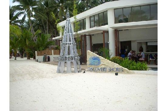 Discovery Shores Boracay: I guess that's their Christmas tree =)