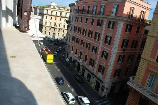 Surprising in Rome: Out the window
