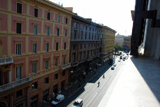 Surprising in Rome: Out the window 2
