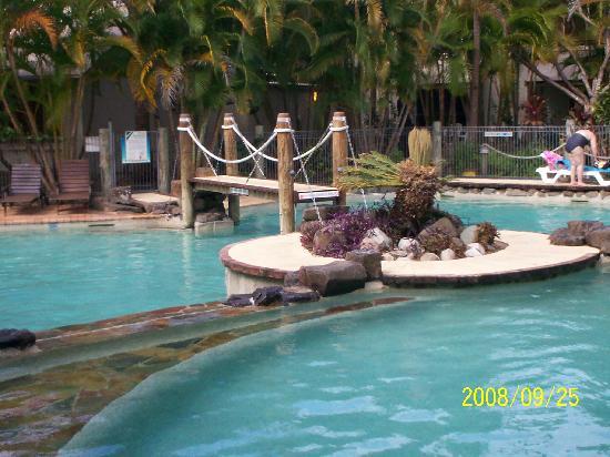 Islander Noosa Resort: Lagoon