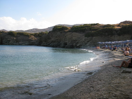 Agia Pelagia, Hellas: Psaromoura Beach, evening