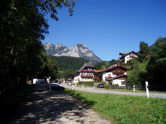 Berghotel Rehlegg: The village of Ramsau