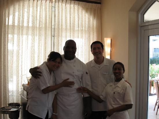 Seven Stars Resort & Spa: The great waiters, and chef
