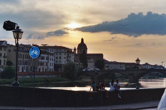 Florence at sunset - Foto di Soggiorno Rondinelli, Firenze - TripAdvisor