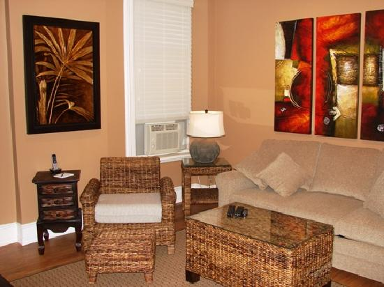 Raleigh Street Executive Suites: Suite 52 lower's living room