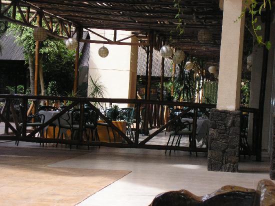 Beatriz Playa & Spa: el restaurante de fuera