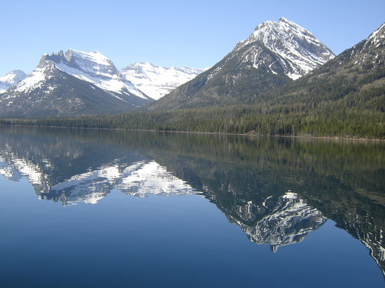 Waterton Lakes National Park, แคนาดา: waterton lake