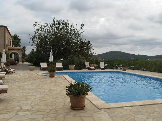 Agroturismo Can Planells: View from  the pool