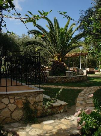 Castello Bellos: Part of the Garden of Castellos