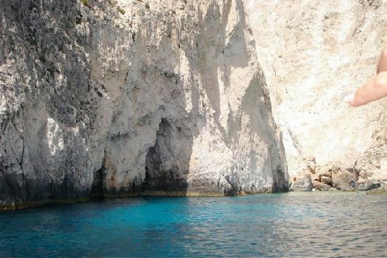 Castello Bellos: The beautiful sea of Keri, Zakynthos.