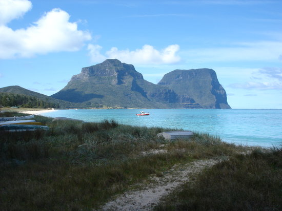 Lord Howe Island, Avustralya: What a view !!