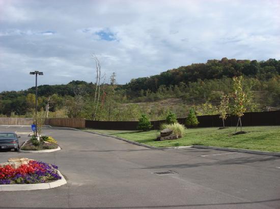Hampton Inn Athens: Nice rolling hills
