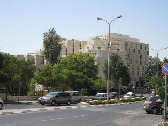 Inbal Jerusalem Hotel: The Inbal as seen from King David Street