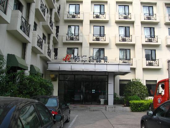 Jinjiang Inn Shanghai Changning : hotel front