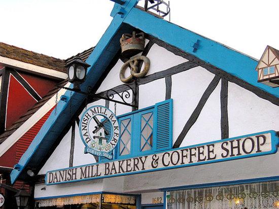 Danish Mill Bakery Solvang