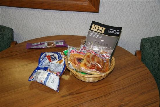 Otter Inn: the complimentary breakfast !