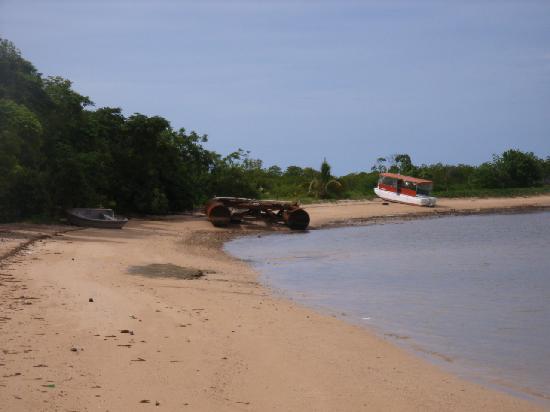 Bekana Garden Island Resort : Old boat graveyard