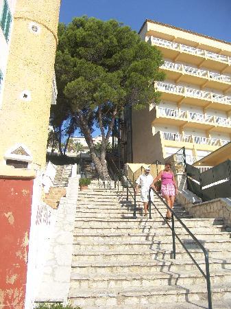 Grupotel Molins: The Steps