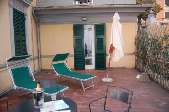 Hotel Casmona: Our patio