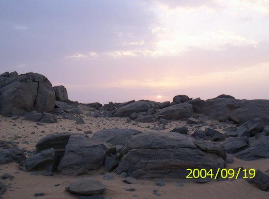 Sudan: sun set