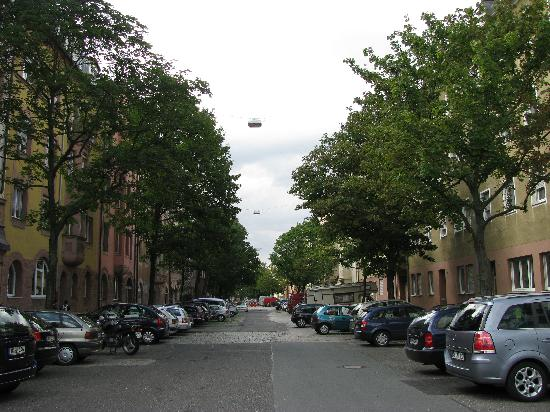 Hotel - Gaststätte Petzengarten: The Street where the Hotel is located