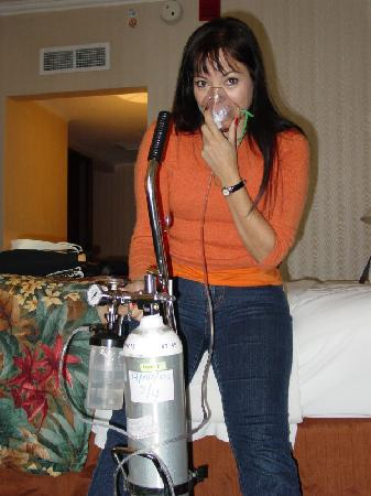 JW Marriott Hotel Quito: En caso de que la altura les afecte, bombonas de oxigeno a la habitacion