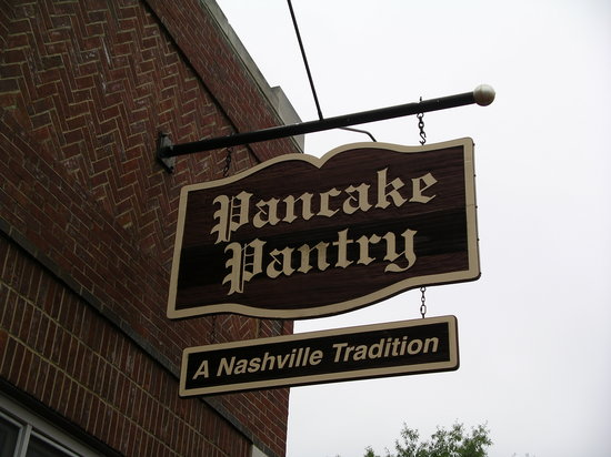 Pancake Pantry : Look for this sign...