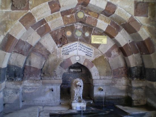 Lion fountain, Hacibektas Museum