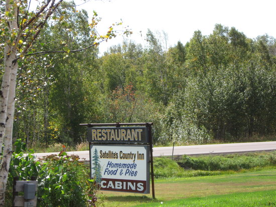 Satellite's Country Inn: look for the sign, hard to find (mile post 72)