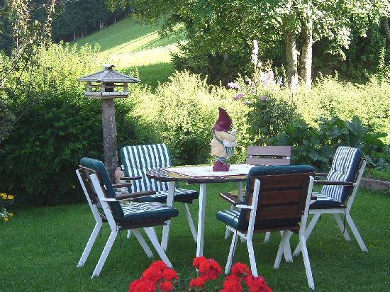AlpenHotel Rainell: angolo del giardino