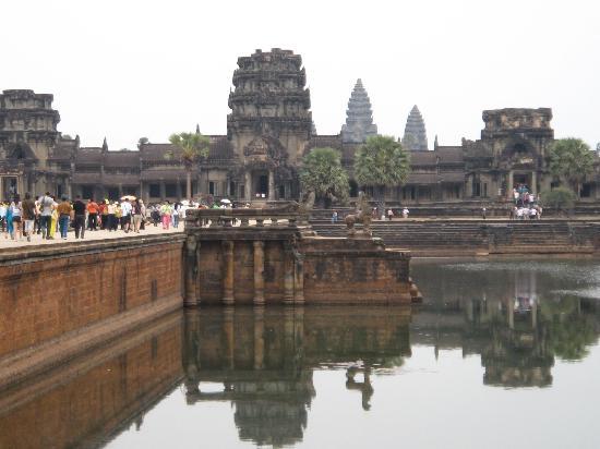 Sihanoukville, Cambodge : Angkor Watt
