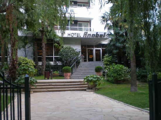 Hotel Anabel : Entrée