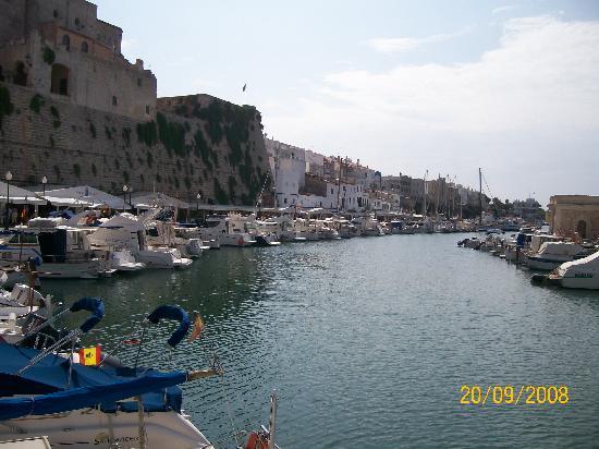 Port Ciutadella: Another view of the Marina