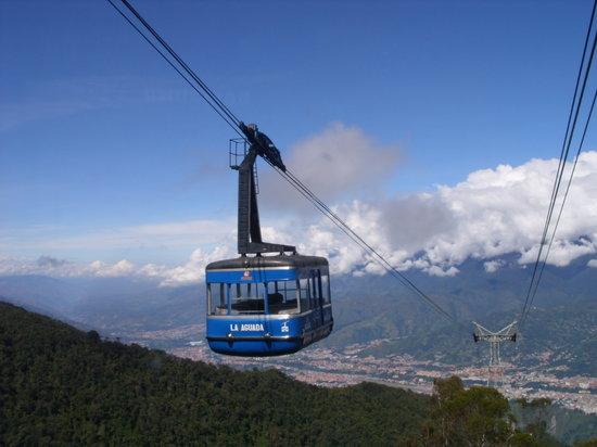 فنزويلا: Mérida, desde el teleférico