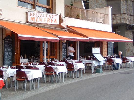 Restaurant Minerva: Great views